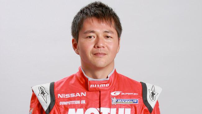 Satoshi Motoyama nel programma Nissan DeltaWing