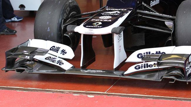 La Williams estremizza l'ala anteriore della FW34