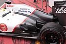 La Sauber ha montato un F-duct posticcio sulla C31!