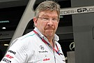 La Mercedes a Barcellona senza Ross Brawn