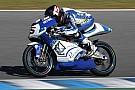 Simone Grotzkyj passa sulla Suter-Honda