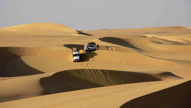 Pharaons Rally 2012: il percorso è pronto!