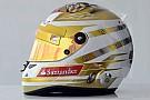 Fernando Alonso presenta il casco per Monaco