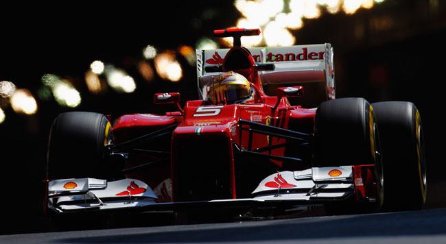 Montecarlo, Libere 1: Alonso carica la Ferrari!