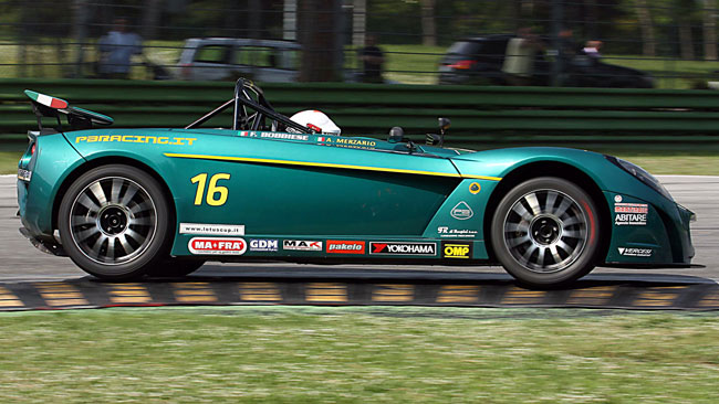 Lotus Cup Italia: Merzario senza rivali ad Imola