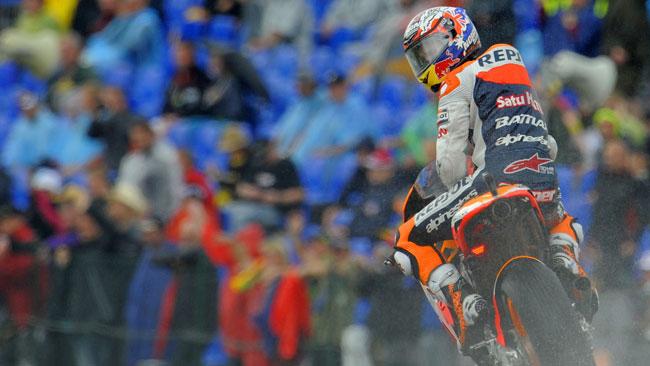 Stoner sorpreso dalla sua pole position