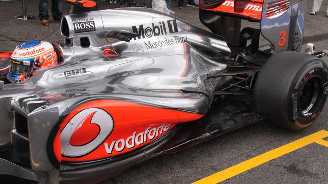 La McLaren cambia la pancia nel posteriore