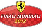 La Ferrari sceglie Valencia per le Finali Mondiali 2012