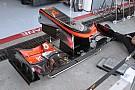 La McLaren scarica anche l'ala anteriore