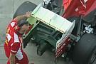 La Ferrari con il doppio flap all'uscita del diffusore