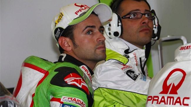 Hector Barbera torna sulla sua Ducati a Misano