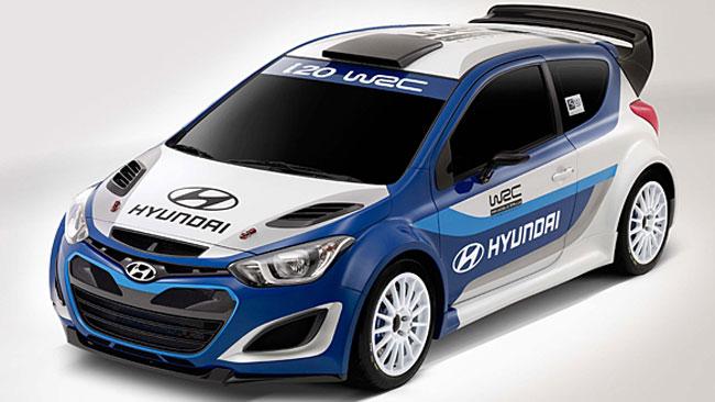La Hyundai presenta la i20 WRC al Salone di Parigi