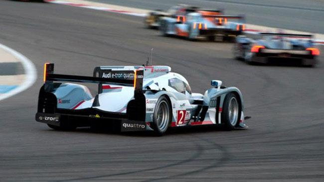 Le Audi monopolizzano la prima fila in Bahrain
