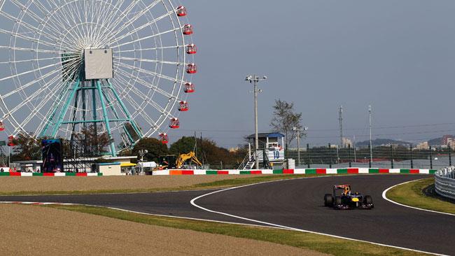 Tanti lavori a Suzuka in vista dell'arrivo della F1