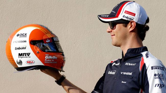 Senna cambia casco per le ultime gare del 2012