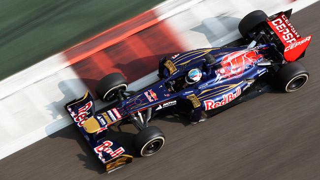 La Toro Rosso ha raccolto dati per la vettura 2013