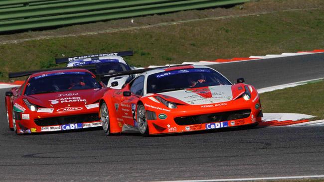 34 vetture al via della 6h di Vallelunga 2012