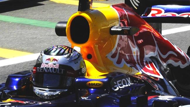 Red Bull: rilevati i dati con la telecamera a infrarossi