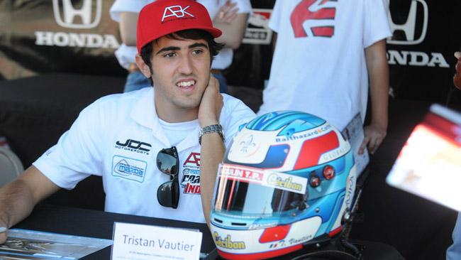 La Sam Schmidt Motorsports offre un test a Vautier