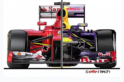 Ferrari vs Red Bull: pull rod vince contro push rod?