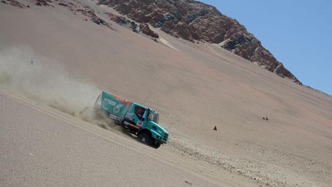 Dakar, 3° Tappa: De Rooy firma il tris Iveco nei camion