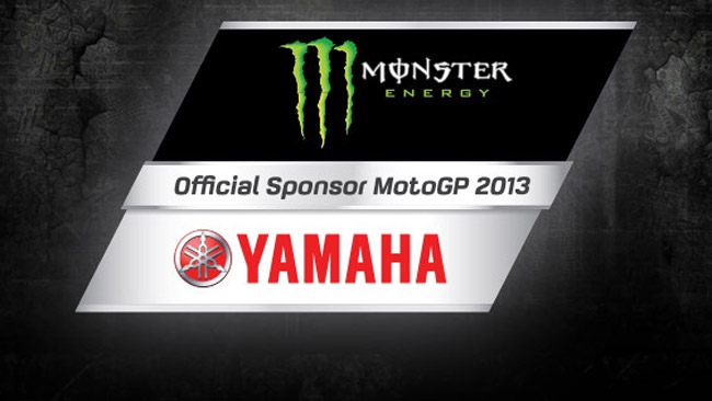 Ufficiale: Monster Energy main sponsor Yamaha
