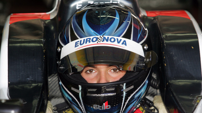 Emanuele Zonzini sale in GP3 con la Trident