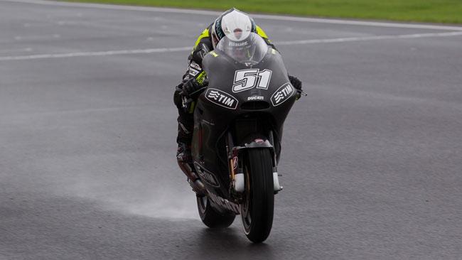 La pioggia ferma ancora la Ducati a Jerez