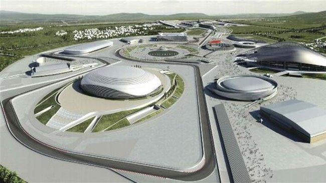 Gp di Russia si correrà a Sochi nel novembre 2014