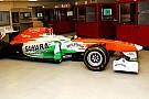 Di resta mostra le forme della Force India VJM06