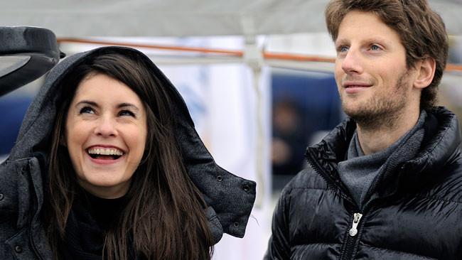 Grosjean diventerà papà nel corso dell'estate