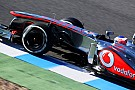 Jerez, Day 1: il primo acuto è di Button e della McLaren