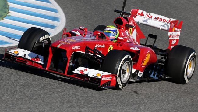 Jerez, Day 3, Ore 15: Massa resta al comando