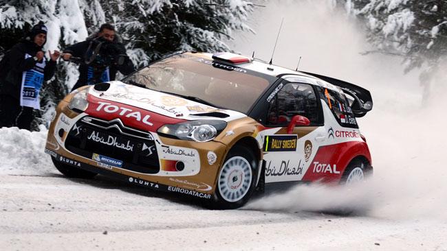 Svezia, PS7: Loeb si riprende il secondo posto