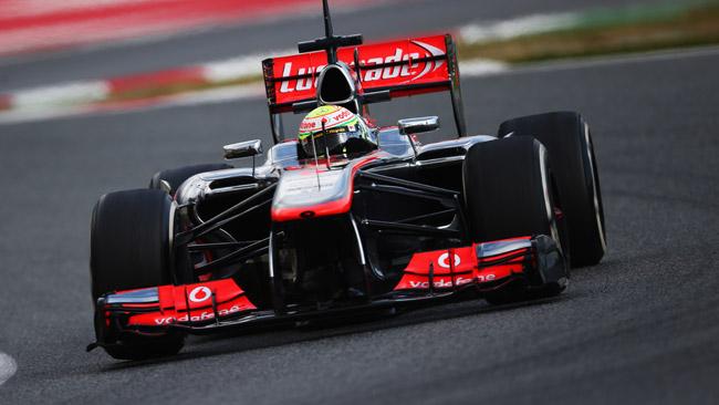 Barcellona, Day 2: primo acuto in McLaren di Perez