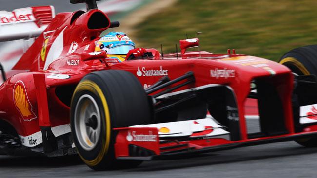 Barcellona, Day 3: Alonso e la Ferrari al top