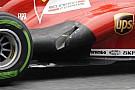 La Ferrari modifica il sistema degli scarichi