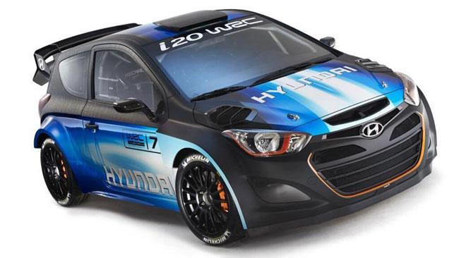 Ecco la versione aggiornata della Hyundai i20 WRC