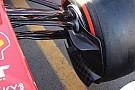 Ferrari, presa dei freni con un'aletta