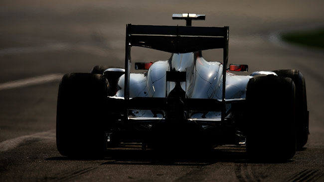 Nuova ala posteriore per la Sauber a Barcellona