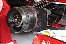 Ferrari: cestelli dei freni con nuove aperture laterali