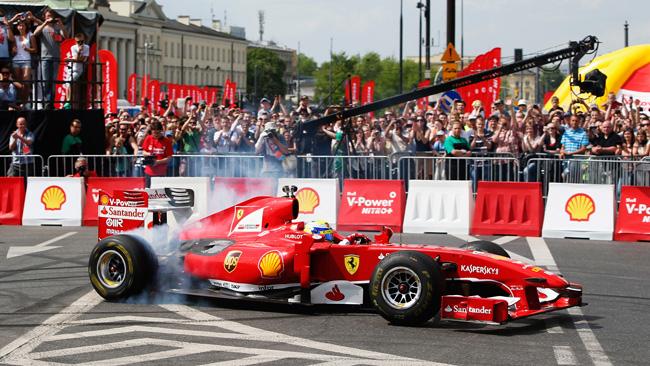 Massa dà spettacolo a Varsavia con la F60