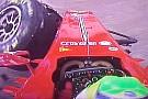 Massa ha sbattuto con il cambio in sesta marcia!