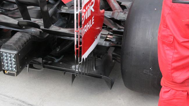 La Ferrari con il diffusore posteriore in stile Lotus