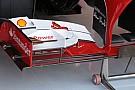 La Ferrari promuove la nuova ala anteriore