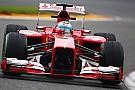 Spa, Libere 1: Alonso, un guizzo con la Ferrari