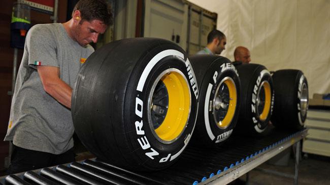 Pirelli cambia le scelte per Singapore rispetto al 2012