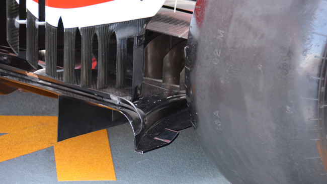 Ecco il diffusore posteriore della Ferrari con il labbro