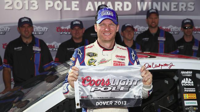 A Dover pole position per Dale Earnhardt Jr