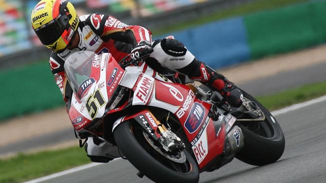 Pirro soddisfatto del suo esordio sulla Ducati